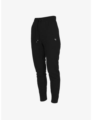 Czarne dresowe spodnie z...